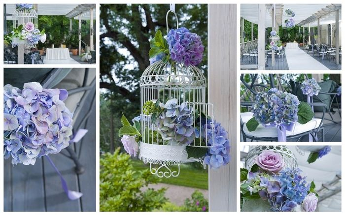 Hortensias en tu boda - Decoracion con hortensias ...