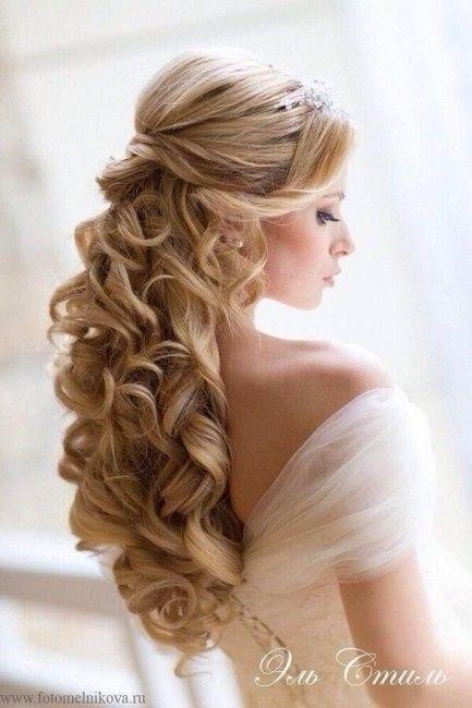 Peinados novia medio recogidos