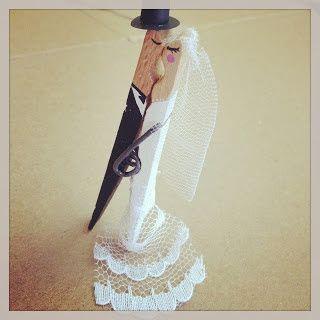 Ganchos de ropa para tu boda - Manualidades para una boda ...