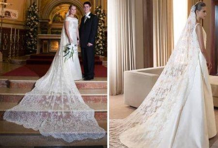 velo de novia, cola de novia, vestido de novia