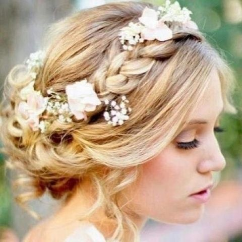 peinado de novia, belleza novia