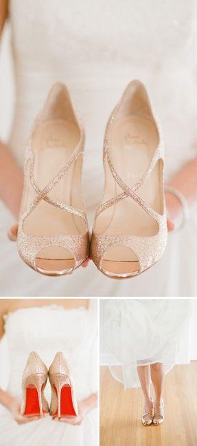 3a1049a7 Cuánto les ha costado los zapatos para boda?