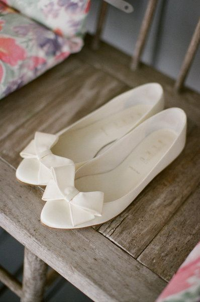 balerina, novia, zapato