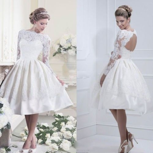 Vestidos blanco cortos 2019