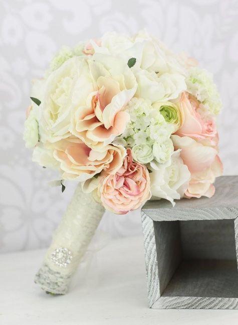 Bouquet de novia shabby chic for Bouquet chic