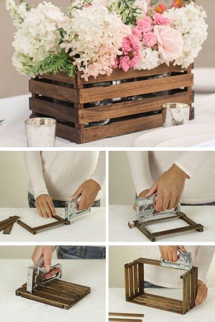 centros de mesa para tu boda para hacer en casa diy