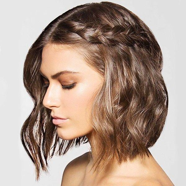 10 Peinados Con Trenzas Para Novias Con Pelo Corto