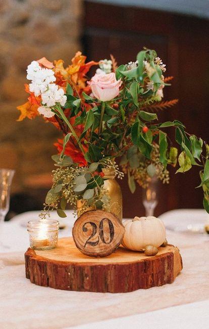 10 centros de mesa para una boda r stica - Centro de mesa rustico ...