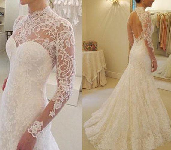 tattoo lace en las mangas de tu vestido de novia