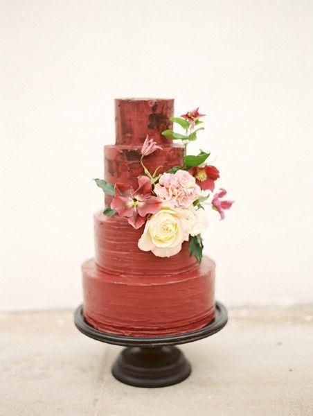 3. Torta de matrimonio de otoño