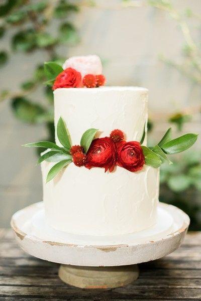 6. Torta de matrimonio de otoño
