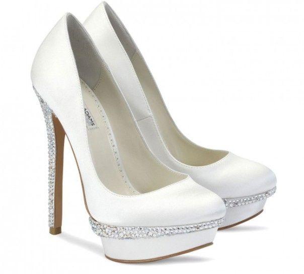 especial zapatos - zapatos de novia con plataforma