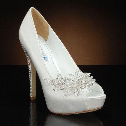Especial zapatos - Zapatos de novia blanco 22e0c4c872e
