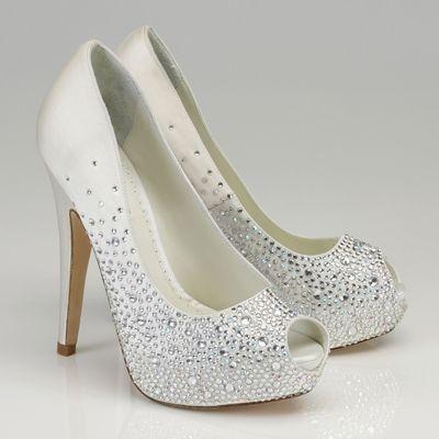 especial zapatos - zapatos de novia blanco