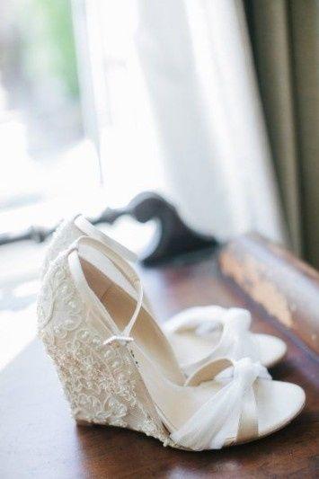 especial zapatos - sandalias de novia para boda en la playa