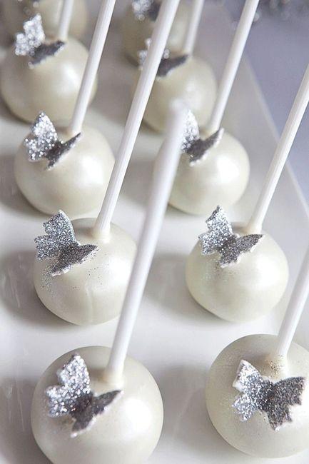 1. Cake Pops para tu boda