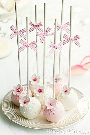 2. Cake Pops para tu boda