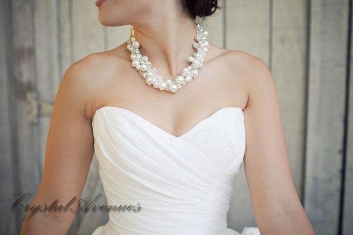 verdadero o falso: la novia no puede llevar perlas