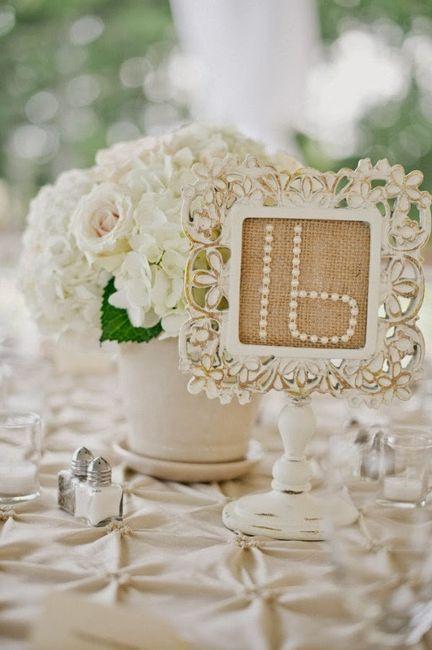 8 centros de mesas de matrimonio shabby chic - Mesa shabby chic ...