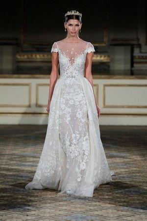 256c08bed Nuevas tendencias en vestidos de novia  Faldas desmontables
