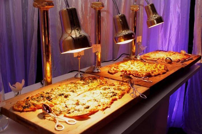 1. Un buffet de pizzas