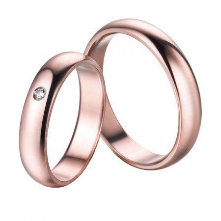 8dbb09e1f6d7 Especial aros de matrimonio  Aros en oro rosa