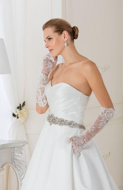 guantes para novia: largos o cortos?
