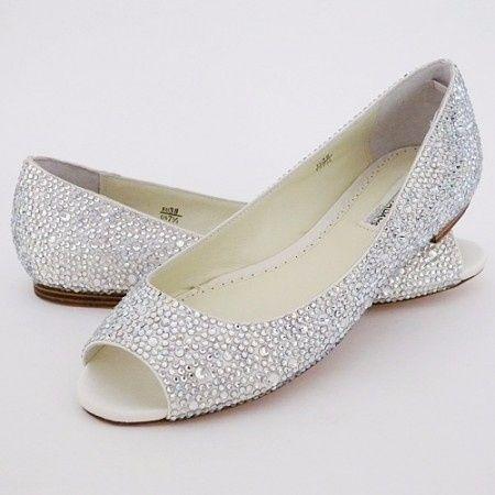zapatos bajitos para novias, elige uno