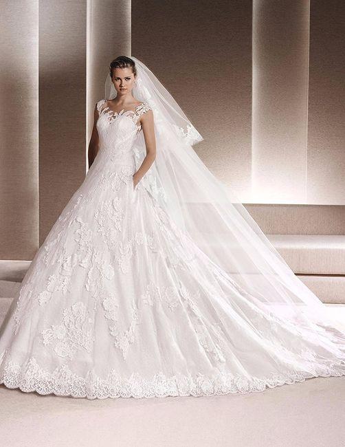 Vestido de novia con encaje: La Sposa