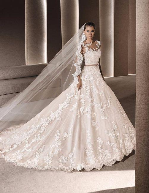 5. Vestido de novia con encaje: La Sposa