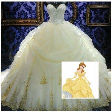 vestidos de novia inspirados en princesas disney – vestidos de noche