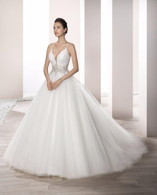 vestido de novia princesa demetrios 2017