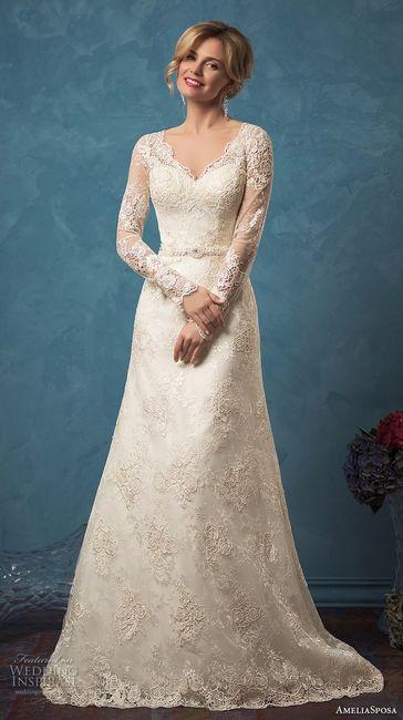 Outstanding Sposa Vestidos De Novia Motif - Wedding Dress Ideas ...