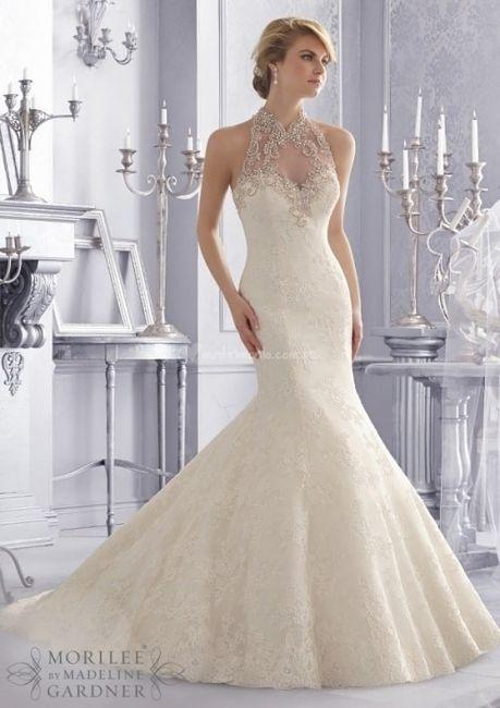 escote halter para tu vestido de novia