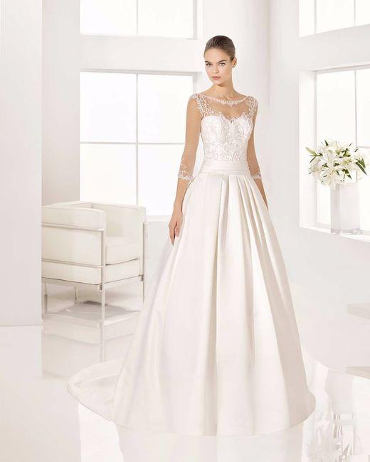 escote ilusión para tu vestido de novia