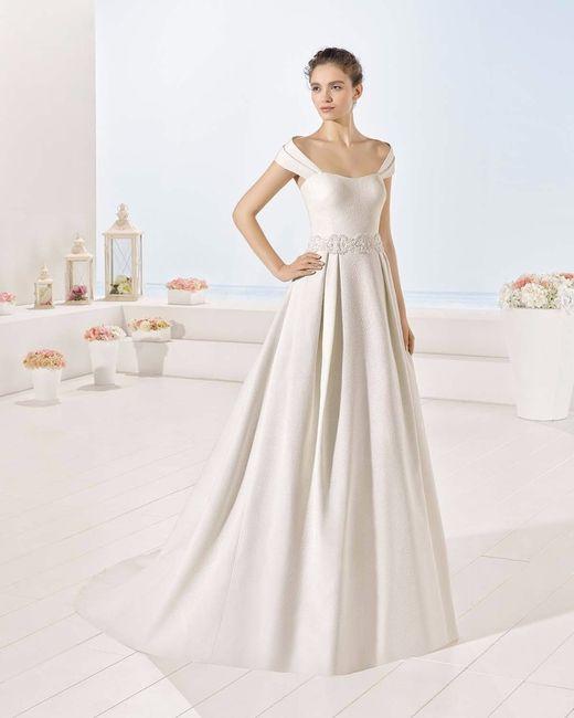 escote hombros caídos para tu vestido de novia