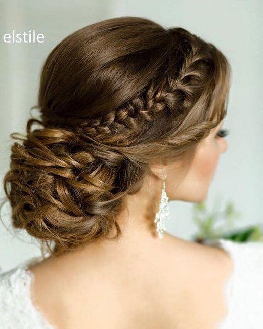 Peinado de novia 2017