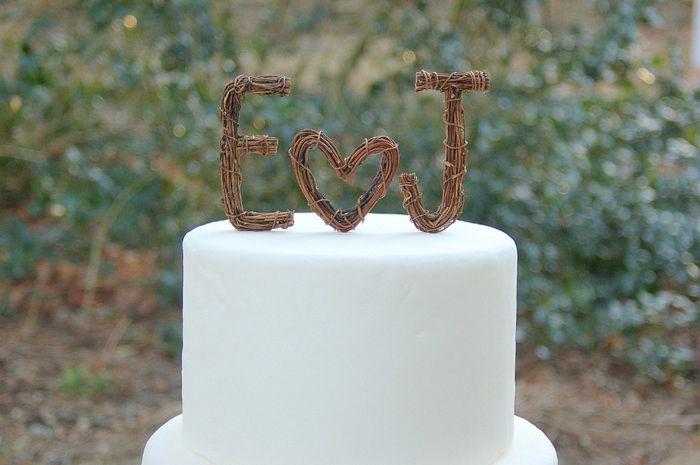 Torta Matrimonio Rustico : Muñecos de torta matrimonio rústico