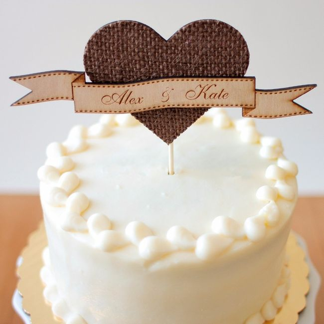 Tortas Para Matrimonio Rustico : Muñecos de torta matrimonio rústico
