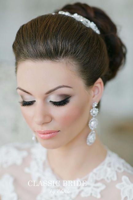 Bridal Makeup Pictures 2018 : Maquillaje de novia - Tendencias 2017