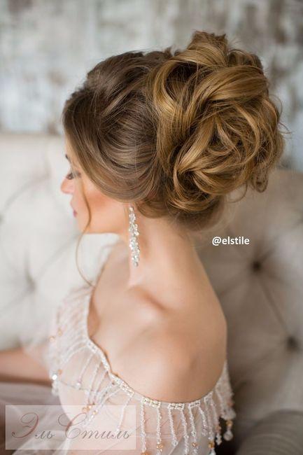 Peinados para novias recogidos altos