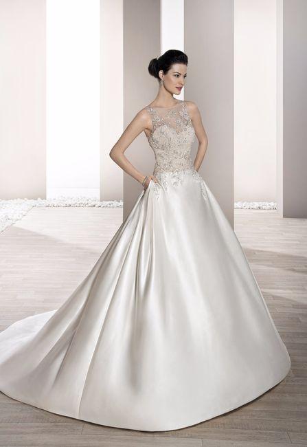 vestido de novia corte princesa. vota tu favorito