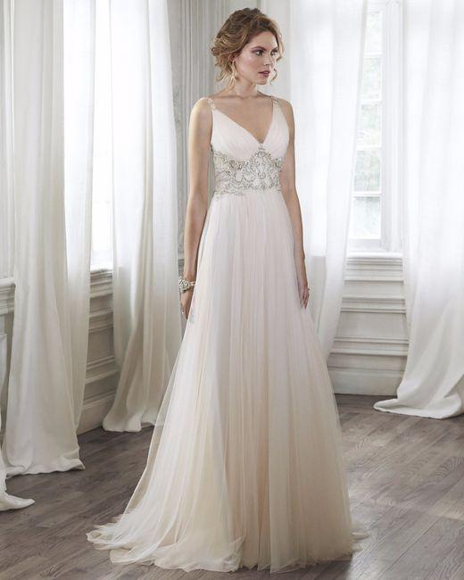 vestido de novia corte imperio. ¿cuál prefieres?