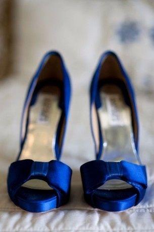 5e6916c15a Zapatos de novia azules