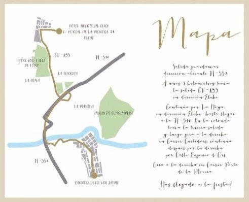 3. Incluir mapa del evento