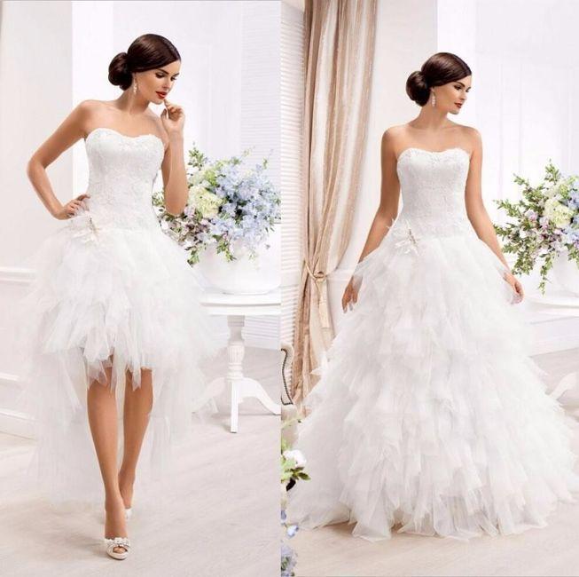 Tu vestido de novia idea es..... - ¡¡El resultado!!