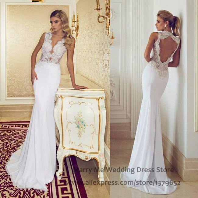 vestidos de novia sexy. ¿con cuál te atreves?