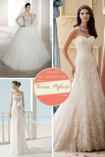 Tu vestido de novia ideal