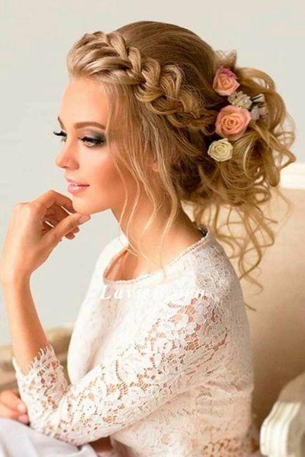 Peinados Con Trenza Para Novias Romanticas - Peinados-romanticos-con-trenzas