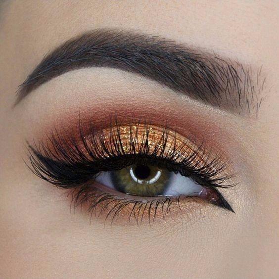 Maquillaje De Novia Ojos Ahumados Natural O Metalico